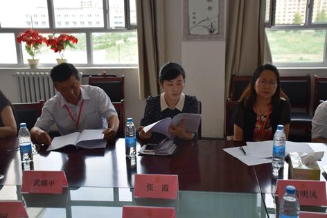 五家渠市副市长张霞同志来院检查指导