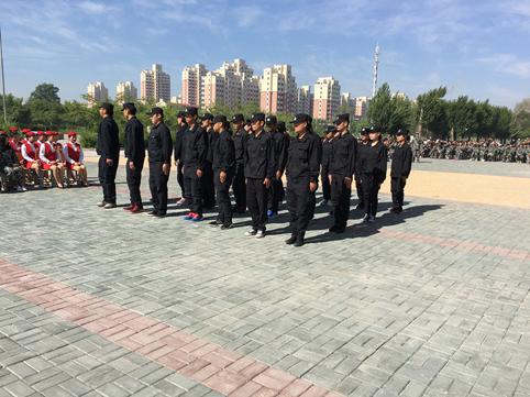 纠察队队列表演